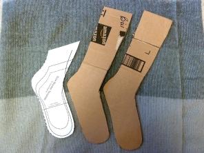 DIY Sock Blockers