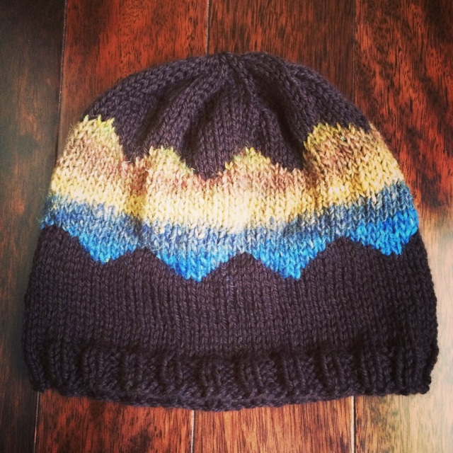Chevron Blocks Hat